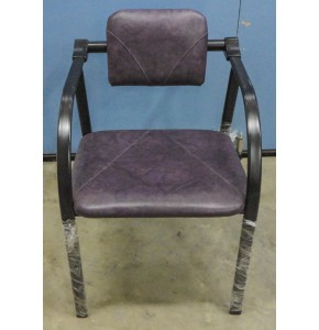 Chair with Handle - Dark Purple