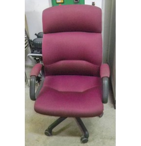 Chair with Handle - Maroon