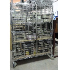 Mobile Rack with Door